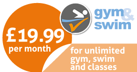 Just £19.99. For unlimited gym, swim and classes.
